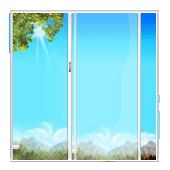 Порталы. Раздвижные окна ПВХ