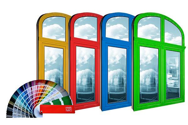 Выбирайте цвет Ваших будущих окон!
