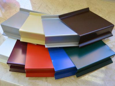 Металлические конструкции с оцинковкой и полиэстровым покрытием