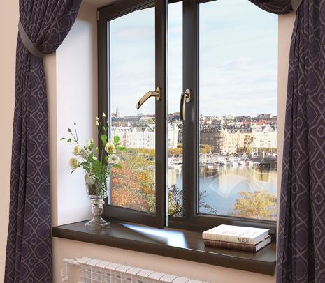 Установим тёплые и практичные окна Рехау в Голицыно! Цвет на выбор!