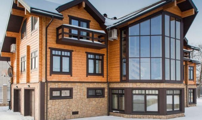 Красивые тёплые окна с ламинацией
