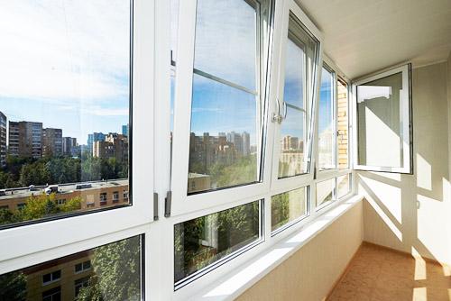 Балконы в Голицыно