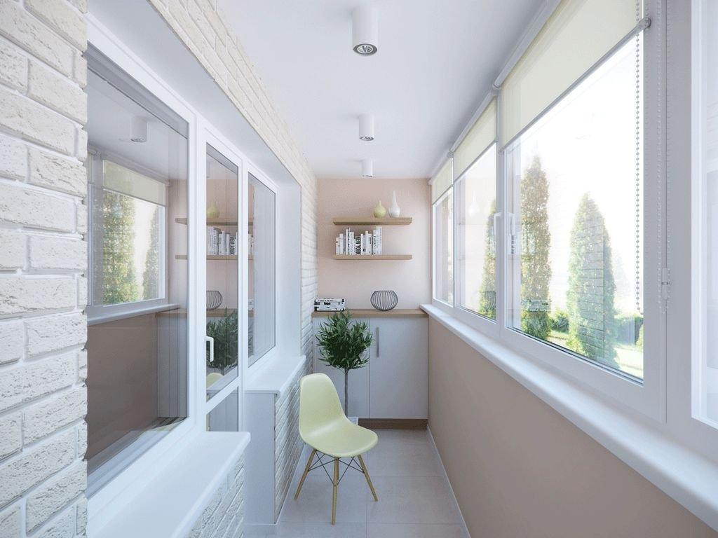 Утепленная лоджия может стать отличным рабочим кабинетом, детской, мини-гостиной.