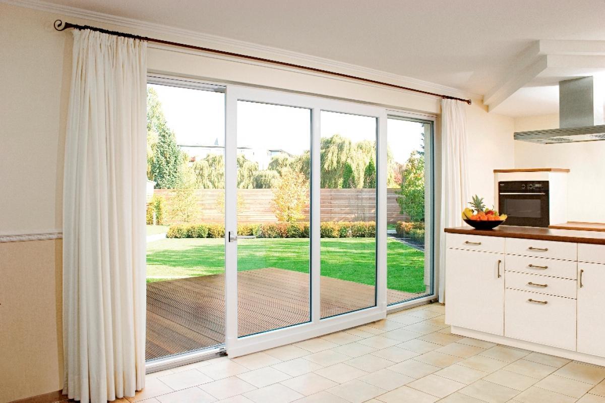 Раздвижные двери с Патио-системой. Находка для частного сектора! Тёплые, красивые и крайне высокопрочные!