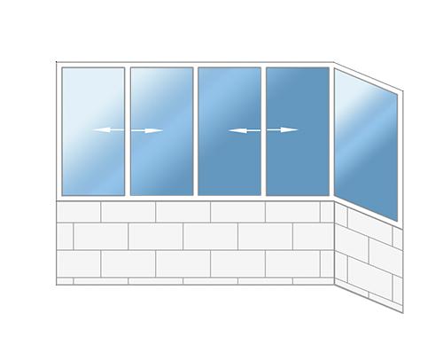 Балконы II-18/12 Б, II-20, II-49