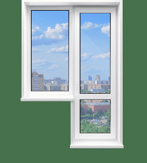 С глухим окном